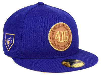 Toronto Blue Jays New Era MLB Area Patch 59FIFTY Cap