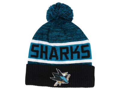 San Jose Sharks 2018 NHL Goalie Knit