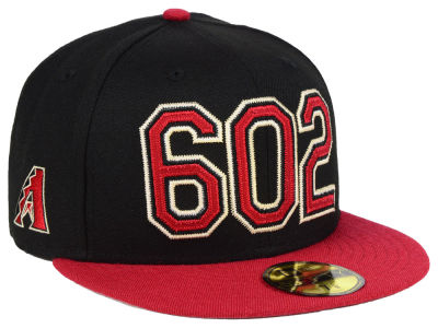 Arizona Diamondbacks New Era MLB Area Code 59FIFTY Cap