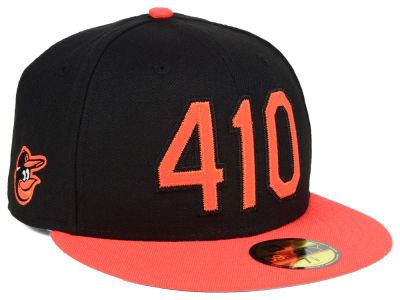 Baltimore Orioles New Era MLB Area Code 59FIFTY Cap