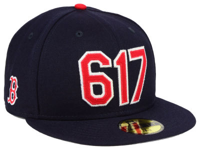 Boston Red Sox New Era MLB Area Code 59FIFTY Cap