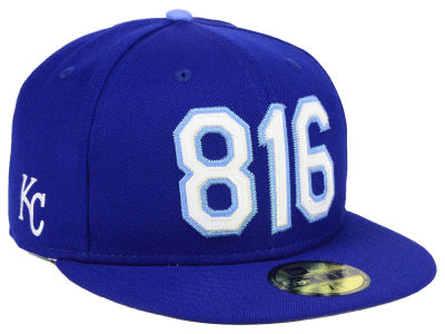 Kansas City Royals New Era MLB Area Code 59FIFTY Cap