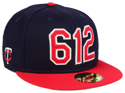 Minnesota Twins New Era MLB Area Code 59FIFTY Cap