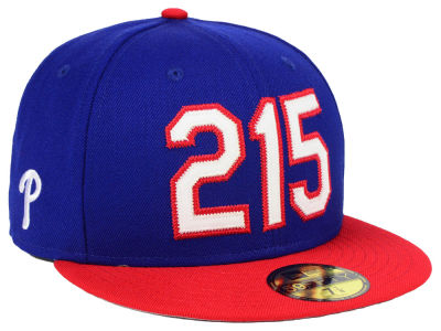 Philadelphia Phillies New Era MLB Area Code 59FIFTY Cap
