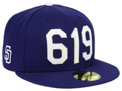 San Diego Padres New Era MLB Area Code 59FIFTY Cap