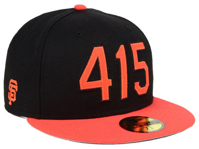 San Francisco Giants New Era MLB Area Code 59FIFTY Cap