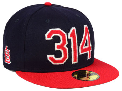St. Louis Cardinals New Era MLB Area Code 59FIFTY Cap