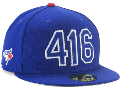 Toronto Blue Jays New Era MLB Area Code 59FIFTY Cap