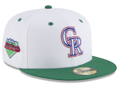Colorado Rockies New Era MLB Retro Diamond 59FIFTY Cap