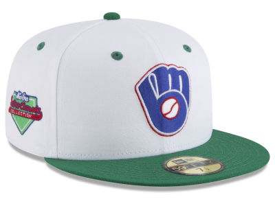 Milwaukee Brewers New Era MLB Retro Diamond 59FIFTY Cap