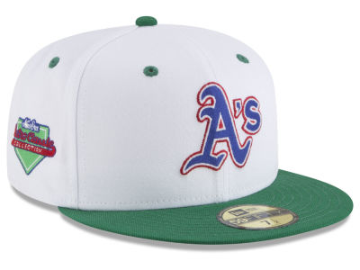 Oakland Athletics New Era MLB Retro Diamond 59FIFTY Cap
