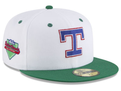 Texas Rangers New Era MLB Retro Diamond 59FIFTY Cap
