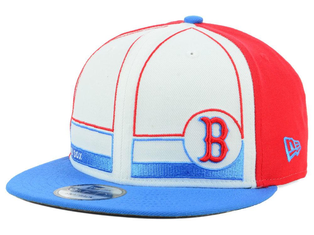 Boston Red Sox New Era MLB Topps 1983 9FIFTY Snapback Cap  d412c3f2e2dd