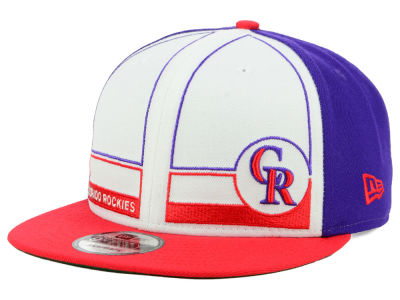 Colorado Rockies New Era MLB Topps 1983 9FIFTY Snapback Cap 1b81eb6d4e75