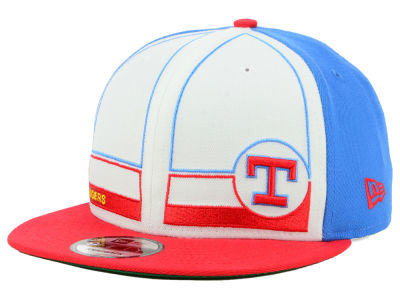 Texas Rangers New Era MLB Topps 1983 9FIFTY Snapback Cap