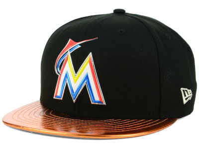 Miami Marlins New Era MLB Topps 2018 9FIFTY Snapback Cap