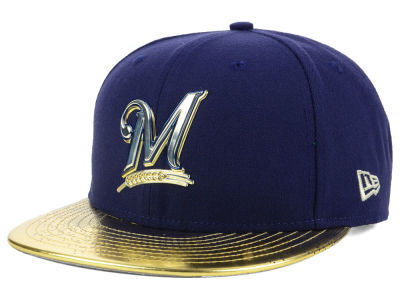Milwaukee Brewers New Era MLB Topps 2018 9FIFTY Snapback Cap