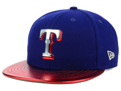 Texas Rangers New Era MLB Topps 2018 9FIFTY Snapback Cap