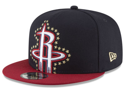 Houston Rockets New Era NBA XL Americana 9FIFTY Snapback Cap