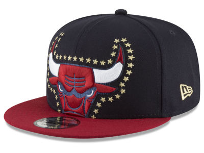 Chicago Bulls New Era NBA XL Americana 9FIFTY Snapback Cap