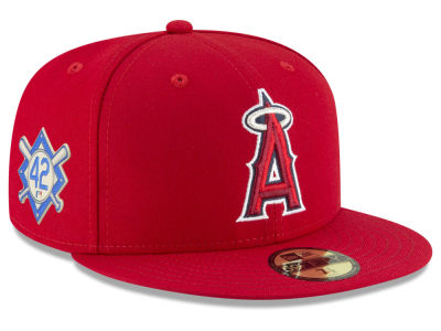 Los Angeles Angels Jackie Robinson MLB 2018 59FIFTY Cap