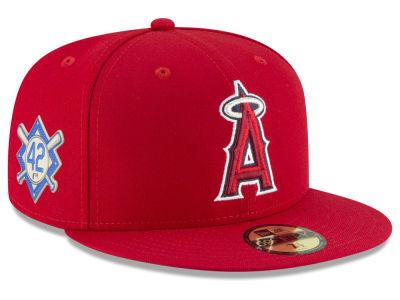 Los Angeles Angels Jackie Robinson New Era MLB Jackie Robinson Day 59FIFTY  Cap da962c43b08b
