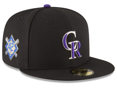 Colorado Rockies Jackie Robinson MLB 2018 59FIFTY Cap