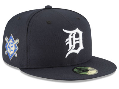 Detroit Tigers Jackie Robinson MLB 2018 59FIFTY Cap
