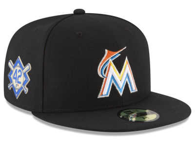 Miami Marlins Jackie Robinson MLB 2018 59FIFTY Cap