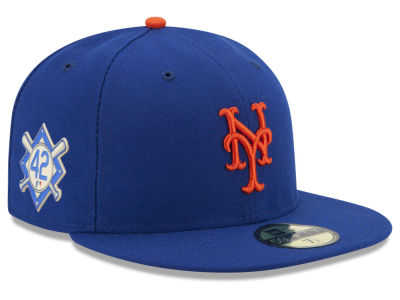 New York Mets Jackie Robinson MLB 2018 59FIFTY Cap