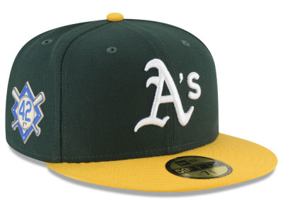 Oakland Athletics Jackie Robinson MLB 2018 59FIFTY Cap