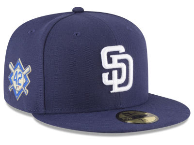 San Diego Padres Jackie Robinson MLB 2018 59FIFTY Cap