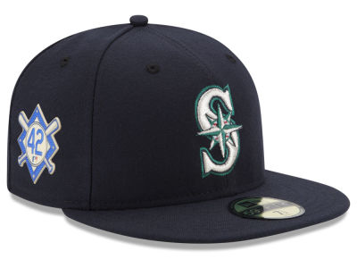 Seattle Mariners Jackie Robinson MLB 2018 59FIFTY Cap