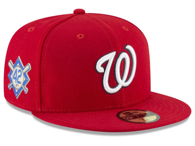 Washington Nationals Jackie Robinson MLB 2018 59FIFTY Cap