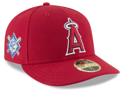 Los Angeles Angels Jackie Robinson MLB 2018 Low Profile 59FIFTY Cap
