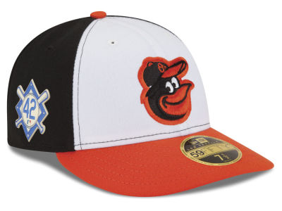 Baltimore Orioles Jackie Robinson MLB 2018 Low Profile 59FIFTY Cap