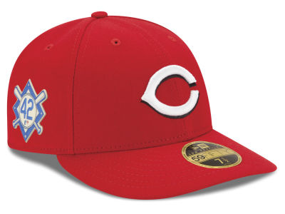 Cincinnati Reds Jackie Robinson MLB 2018 Low Profile 59FIFTY Cap