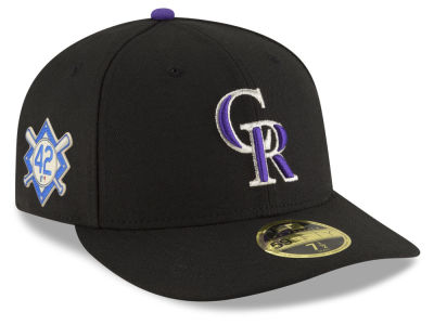 ... coupon colorado rockies jackie robinson mlb 2018 low profile 59fifty cap  4c5fd cbc6d bf667ce3ad2b