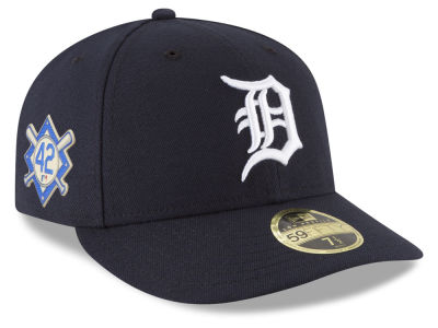 Detroit Tigers Jackie Robinson MLB 2018 Low Profile 59FIFTY Cap