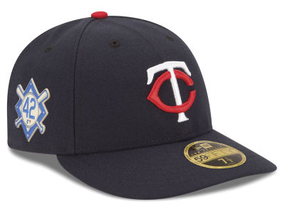 Minnesota Twins Jackie Robinson MLB 2018 Low Profile 59FIFTY Cap
