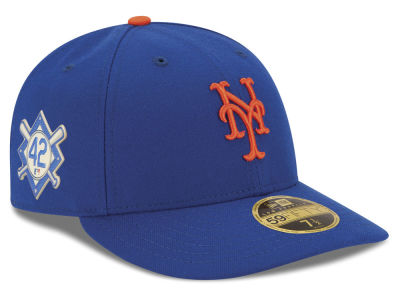 New York Mets Jackie Robinson MLB 2018 Low Profile 59FIFTY Cap
