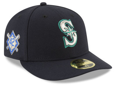 Seattle Mariners Jackie Robinson MLB 2018 Low Profile 59FIFTY Cap