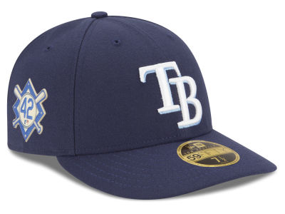 Tampa Bay Rays Jackie Robinson MLB 2018 Low Profile 59FIFTY Cap