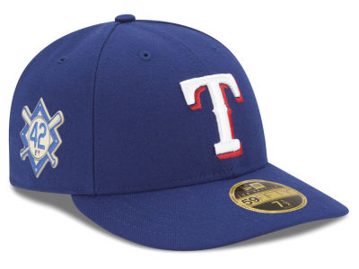 Texas Rangers Jackie Robinson MLB 2018 Low Profile 59FIFTY Cap