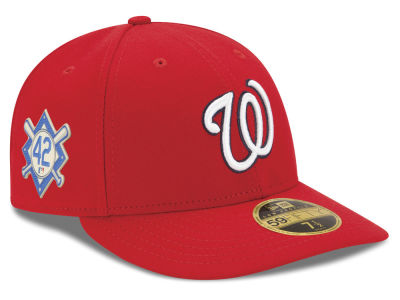 Washington Nationals Jackie Robinson MLB 2018 Low Profile 59FIFTY Cap