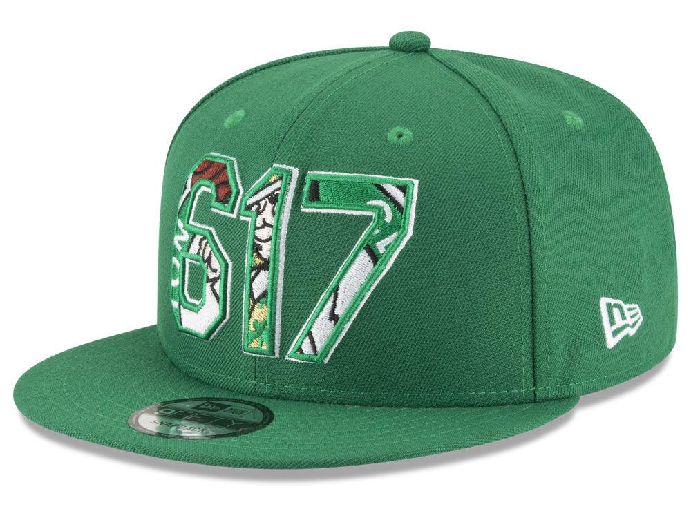 f814258f72e Boston Celtics New Era NBA Area Code 9FIFTY Snapback Cap