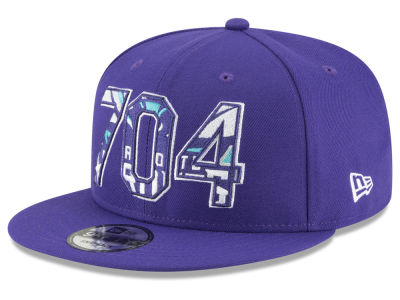 Charlotte Hornets New Era NBA Area Code 9FIFTY Snapback Cap