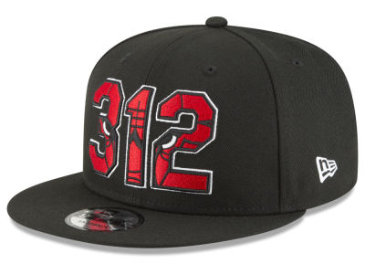 Chicago Bulls New Era NBA Area Code 9FIFTY Snapback Cap
