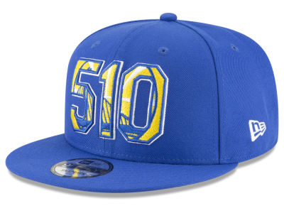 Golden State Warriors New Era NBA Area Code 9FIFTY Snapback Cap