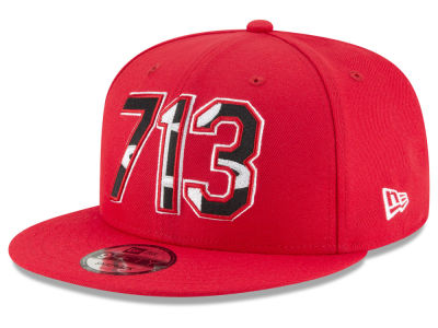 Houston Rockets New Era NBA Area Code 9FIFTY Snapback Cap 571696ea3f3